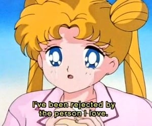anime, rejected, and anime quote image