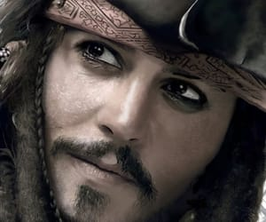 jack sparrow, justice, and johnny depp image
