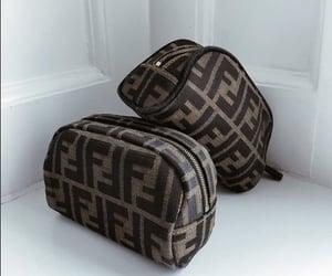 bag, fendi, and make up bag image