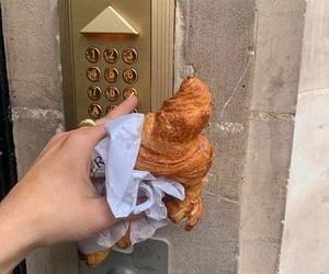 food, croissant, and paris image