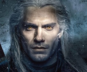 Henry Cavill, the witcher, and history historical image