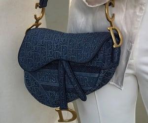 bag, brand, and Christian Dior image