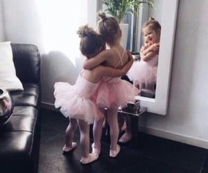 sisters, baby, and ballet image