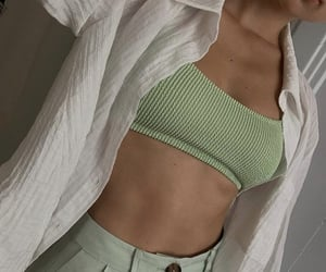 abs, beauty, and blouse image