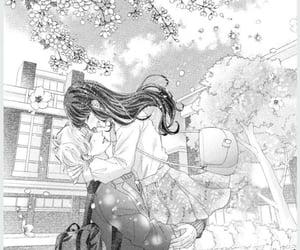 manga couple, manga, and manga shojo image
