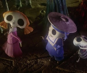 cap, corpse bride, and screen image