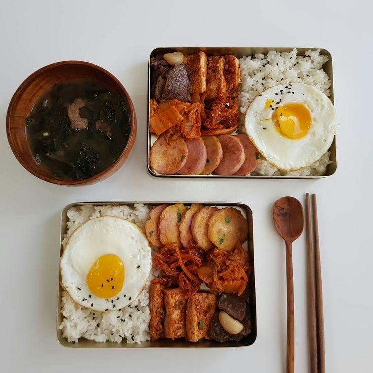 aesthetic, food, and lunchbox image