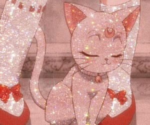 anime, cat, and aesthetic image