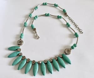 etsy, vintage jewelry, and faux turquoise image
