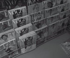 magazine, reading, and vogue image