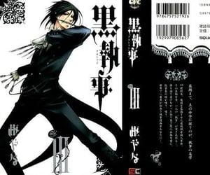 black butler, cover, and kuroshitsuji image
