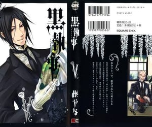 black butler, manga, and cover image