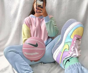 pastel and outfit image