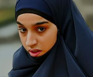 islamic art, jilbab, and müslimah image