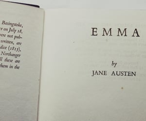 books, emma, and jane austen image