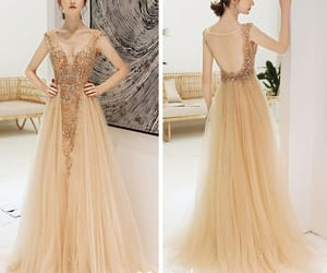 beading, formal dresses, and evening dress image