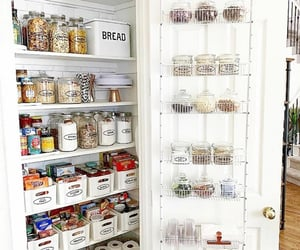 cabinet, closet, and country living image