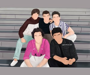 one direction and art image