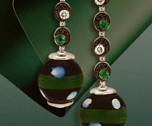 bijoux, bling, and earrings image