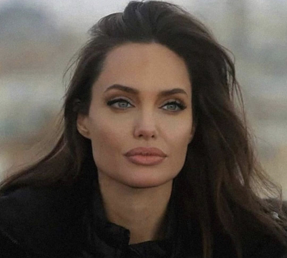 Angelina Jolie, actress, and brunette image