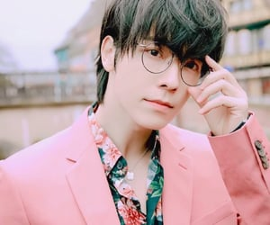 asian, pink, and donghae image