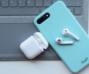 headphone, wireless headphones, and headphones image