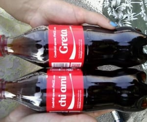 coca cola, nomi, and dediche image