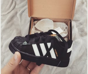adidas, black and white, and stickers image