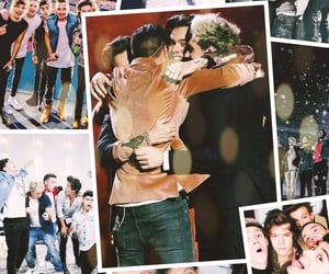 louistomlinson, onedirection, and harrystyles image