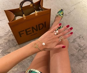 fashion, fendi, and style image