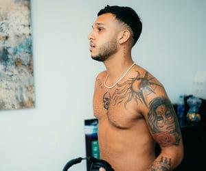 boys, reggaeton, and tattoo art image