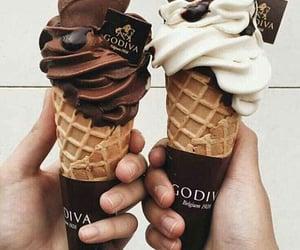 black, chocolate, and kara image