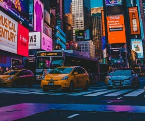 city, color, and taxi image