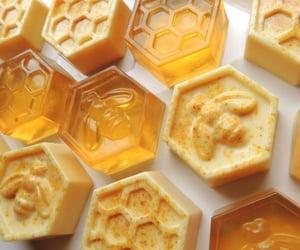 yellow, honey, and aesthetic image