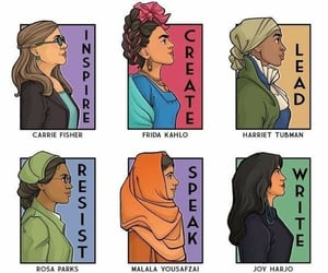 woman, art, and feminism image