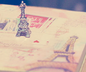 book, charm, and paris image