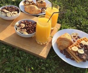 breakfast, food, and juice image