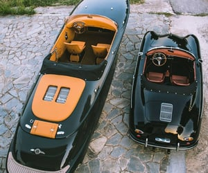luxury, boat, and car image