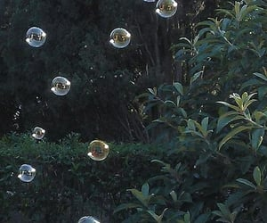 bubbles, aesthetic, and green image