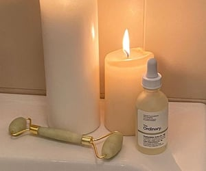 candles, skincare, and selfcare image