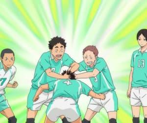anime, aoba johsai, and haikyu!! image
