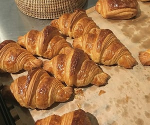 croissant, food, and and breakfast image image