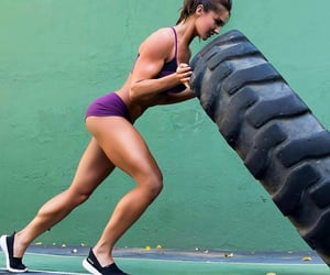 girl, fitness, and body image