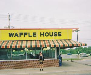 vintage and waffle house image