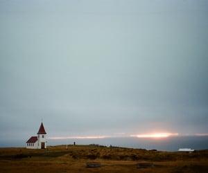 abandoned, dark, and sea image