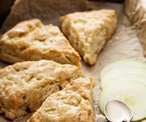 apple, recipe, and scone image