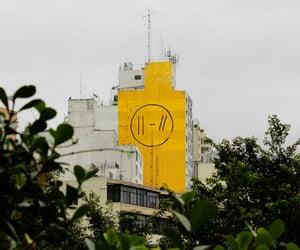 trench, yellow, and twenty one pilots image