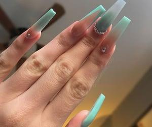 long, art, and nails image