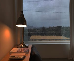 rain, book, and room image