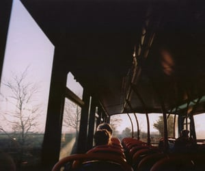 vintage, bus, and hipster image